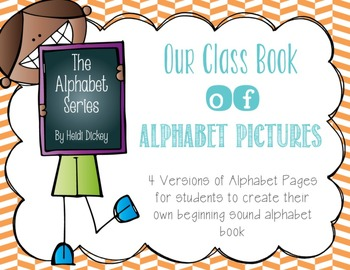 Our Class Book of Alphabet Pictures