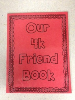 Our Class Book of Friends