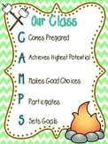 Our Class CAMPS Guidelines and Rules Poster
