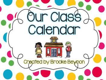 Our Class Calendar