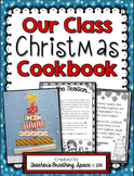 Our Class Christmas Cookbook --- Christmas Cookbook Parent Gift