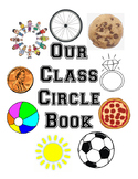 Our Class Circle Book, PreK and K circle learning activity