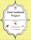 Our Class Cookbook Project