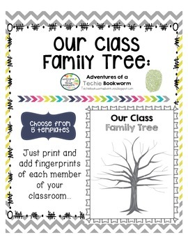 Our Class Family Tree- Fingerprint Class Tree