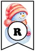 Our Class Is 'Snow' Good, LETTERS Winter Snow Bulletin Board Sayings Pennant