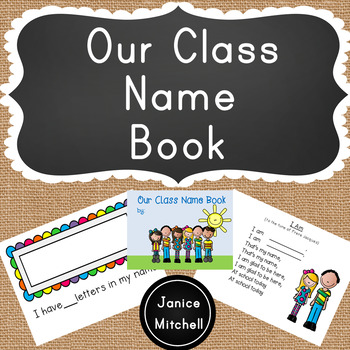 Our Class Name Book