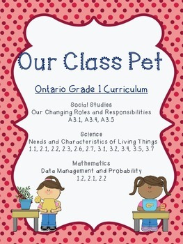 Our Class Pet - for Primary classrooms {Differentiated and Integrated}