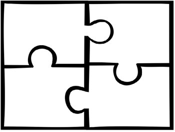 Classroom display: Our class puzzle theme