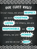 Our Class Rules Poster