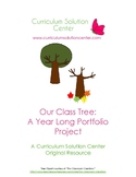 Our Class Tree: A Year Long Portfolio Project {Science, Pr