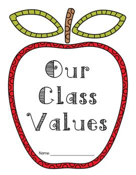 Our Class Values - Respectful Community Unit