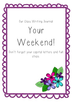 Our Class Writing Journal