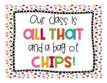 image relating to You're All That and a Bag of Chips Printable called All That And A Bag Of Chips Worksheets Training Supplies