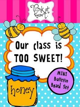 Our Class is TOO SWEET Mini Bulletin Board Set
