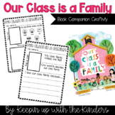 Our Class is a Family; Book Companion Craftivity