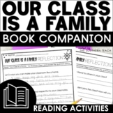 Our Class is a Family Book Companion Reading Activities Print and Digital