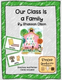 Our Class is a Family- Lesson in Home and Classroom Connections