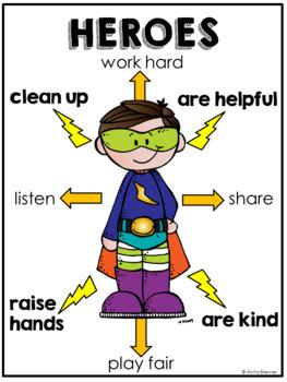 Superhero Back to School Activities