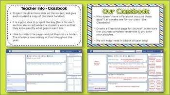 Our Classbook (A Facebook Inspired Activity)