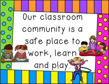 Our Classroom Community