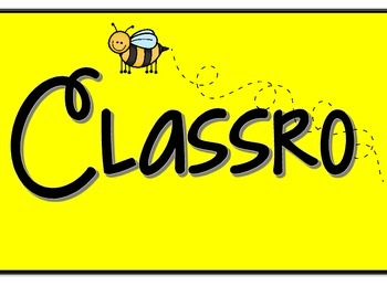 Our Classroom Community Bee Themed Banner