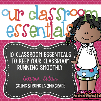Our Classroom Essentials - 10 Classroom Essentials/Rules Banner Poster