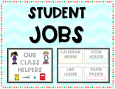 Our Classroom Helpers - Student Jobs and Name Tags