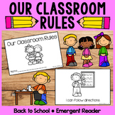 Our Classroom Rules | Emergent Readers | Back to School