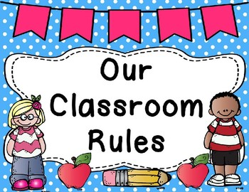 Our Classroom Rules in English