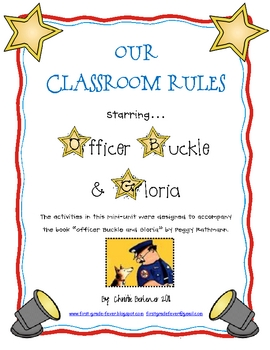 Our Classroom Rules starring... Officer Buckle and Gloria
