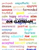 Our Classroom / WE are Posters