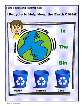 Our Clean Earth:  Recycling Bin