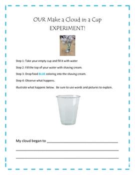 Our Cloud Experiment