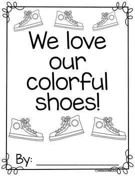 Our Colorful Shoes- Pete the Cat inspired class book