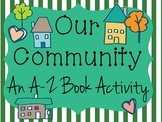 Our Community: A to Z Book Activity