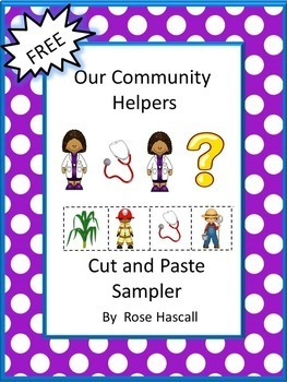 FREE Community Helpers NO PREP Math and Literacy Printable
