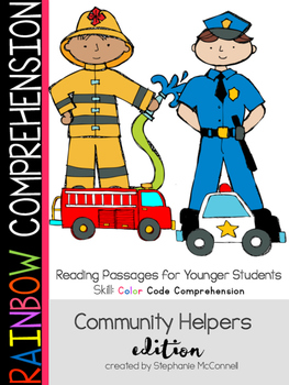 Our Community Helpers-Rainbow Comprehension for Young Students