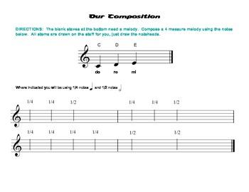 Our Composition, Level 1