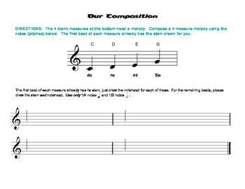 Our Composition, Level 2