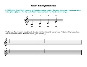 Our Composition, Level 2