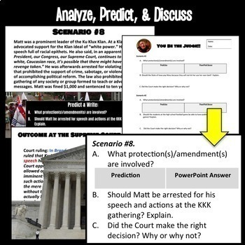 You Be the Judge: Analyzing Supreme Court Decisions