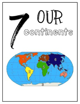 Our Continents / Mini-Unit
