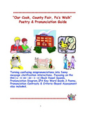 """Our Cook, County Fair, Pa's Walk, Poetry & Pronunciation Guide"""