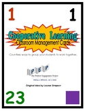 Our Cooperative Learning Classroom Management Cards