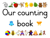 Our Counting Book 1-20