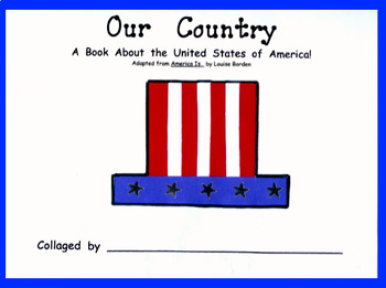 Our Country Student Patriotic Book