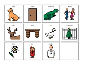 Our D Book- adapted for kids with disabilities