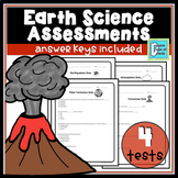 Plate Tectonics, Volcanoes, Earthquakes, and the Atmosphere Assessment