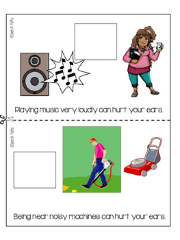 Our Ears: Interactive Topic Books