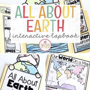 EARTH DAY AND LANDFORMS LAPBOOK